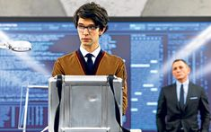 Ben Whishaw's turn as hi-tech boffin Q in the new James Bond film Skyfall is   brave new territory indeed, he tells James Rampton.
