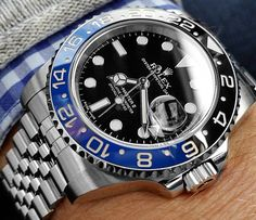 "Rolex GMT-Master II the ""Batman"""