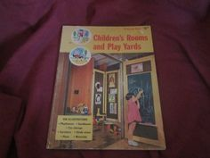 1960 ** Children's Room and Play Yards ** 1st printing ** Sunset Books and Magazines **sj by theadlibrary on Etsy