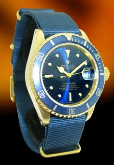 The Dream Collection Vintage Rolex Submariner w/ nato strap