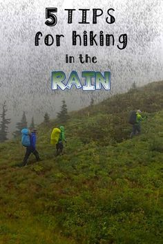 Don't let the rain stop you from hiking!