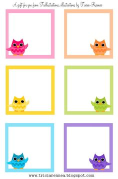 Free Owl Pictures To Print   ... of owls. All you will need is a printer, scissors and a glue stick