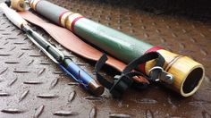 """Complete tenkara ready to fish kit Tenkara Rod Case :- Made from Moso Bamboo this case will fit Rods up to 22"""" (56cm) and 33mm diameter (at its smallest part). Nylon strap ensures easy ca…"""