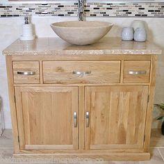diy bathroom vanity unit. Bathroom Vanity Unit Oak Cabinet Furniture Wash Stand  White Ceramic Basin 1161 in Home DIY Bath Sinks eBay My home Pinterest