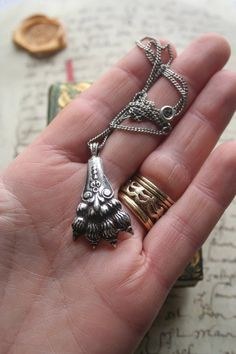 Your place to buy and sell all things handmade Brian Boru, Lion Paw, Baroque Fashion, Argent Sterling, Gothic Jewelry, Antique Shops, Sterling Silver Chains, Precious Metals, Vintage Items