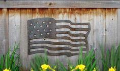American Flag. $65.00, via Etsy.