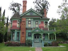 L.A. Victorian, 1880      Hale House    Los Angeles Historic-Cultural Monument No. 40, a Victorian home designed by W.R. Norton around 1880.Big Orange Landmarks