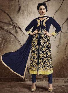 Rapture Bollywood Blue Anarkali Salwar Kameez Indian Pakistani Gown Long Designer Suit Professional Design Other Women's Clothing Women's Clothing