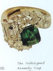 Better photo of Jackie's Emerald & Diamond Van Cleef toi et moi