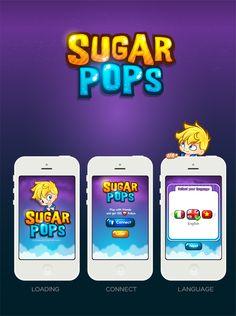 SUGAR POP - NEW GAME - 2013 on Behance