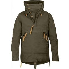 The Fjallraven Numbers range are the pinnacle of Fjallravens outdoor range The No 8 Anorak is made from 2 different materials that are not only