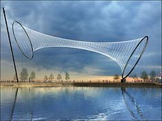 Temenos; Anish Kapoor & Cecil Balmond. Contemporary Basketry: Suspended