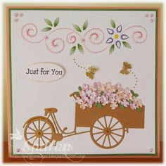 Hobbyjournaal 113 contribution by Ann's Paper Art.  Dies are by Joy! crafts 6002/0305, 6002/0182.