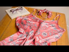 Vestido de tirantes para estar en casa o multiusos con patrones incluidos en tallas XS/S/M/L/XL - YouTube Baby Dolls, Youtube, Rompers, Sewing, Blouse, Crochet, How To Make, Soap Making, Aprons
