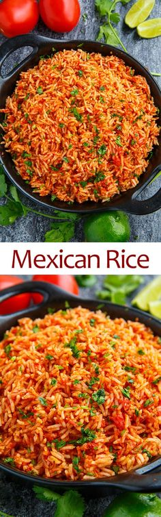 Mexican cuisine is one of my favourites and with Cinco de Mayo coming up I have been thinking about Mexican recipes for my menu. Mexican style rice is a staple side for any Mexican Fiesta Rice Recipe, Mexican Rice Recipes, Rice Recipes For Dinner, Mexican Dishes, Side Dish Recipes, Vegetarian Recipes, Cooking Recipes, Easy Recipes, Enchiladas