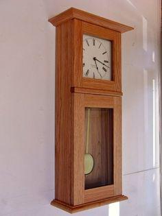 Shaker Wall Clocks - Ideas on Foter Wall Clock Plans, Giant Wall Clock, Big Wall Clocks, Mantel Clocks, Wood Clocks, Antique Clocks, Vintage Clocks, Craftsman Wall Clocks, Wall Clock Design