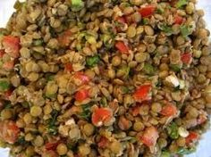 Azifa (Ethiopian Green Lentil Salad) Recipe via @SparkPeople-(modified...)