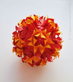 Tip: Papers I usually buy on Ebay or Origami Shop. Japanese books I tend to buy from CDJapan. A while back I posted two Kusudama tutorials by Mr. Marcell. Both are wonderful designs and were well like by many of you. (You can find them here: Tornado Kusudama & Open Faced Kusudama) I am overjoyed …