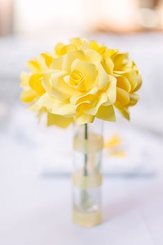 Real Weddings: Glorya and Tim's 500 Paper Rose Event