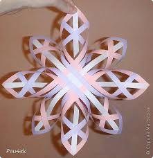 Картинки по запросу 3D снежинки из бумаги