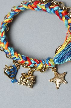 Disney Couture Jewelry The Little Mermaid Collection Toggle Charm Bracelet : Karmaloop.com - Global Concrete Culture