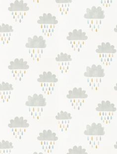 April Showers, a feature wallpaper from Scion, featured in the Guess Who? collection.