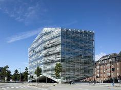 the crystal in Copenhagen, Denmark, by Schmidt Hammer Lassen Architects in 2011