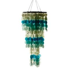 I pinned this Seaside Capiz Chime Décor from the Kalalou event at Joss and Main!