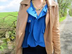 Blue Blouse ( ) with All About Fashion, Passion For Fashion, Cozy Winter Outfits, Winter Clothes, Blouse Styles, Blue Blouse, Dress Me Up, My Wardrobe, Latest Fashion Trends