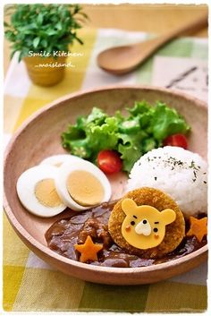 Lion lunch plate takekayoda/kyaraben-japanese-style- lunchbox/ get back - so much