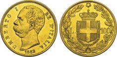 NumisBids: Numismatica Varesi s.a.s. Auction 65, Lot 681 : SAVOIA - UMBERTO I (1878-1900) 100 Lire 1882 Roma. Pag. 568 MIR...