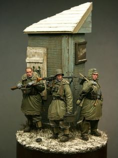 Really nice WWII figure diorama by Gunther Sternberg.