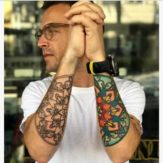 Arm Tats, Arm Tattoos For Guys, Tattoo Life, Color Tattoo, Ink, Instagram, Color Tattoos, India Ink, Tattoo Colors