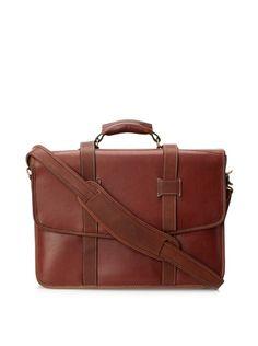 1679a08d3d7b 49% OFF Korchmar Men s Flap Over Briefcase (Brown)