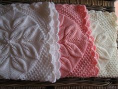 Baby knit blanket by WhiteRoseDesigns1 on Etsy, $70.00