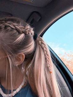 2019 Lindos Peinados con Trenzas – Fácil Paso a Paso 2019 Cute Hairstyles with Braids – Easy Step by Step More from my site Cute Little Girl Hairstyles Easy Braided Ponytail Hairstyles, Pretty Hairstyles, Hairstyle Ideas, Teen Hairstyles, Cute School Hairstyles, Wedding Hairstyles, Braid In Ponytail, Volleyball Hairstyles, Athletic Hairstyles