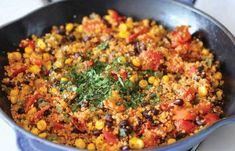 Weil's super schmeckt und Quinoa-Rezepte mega gesund sind! Weil's super schmeckt und Quinoa-Rezepte mega gesund sind! Mexican Food Recipes, Whole Food Recipes, Vegetarian Recipes, Healthy Recipes, Easy Recipes, Recipes Dinner, Healthy Foods, Free Recipes, Ethnic Recipes