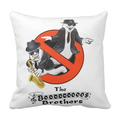 THE BOOS BROTHERS THROW PILLOW - halloween decor diy cyo personalize unique party