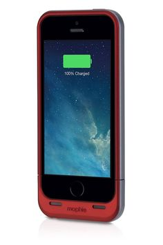 This is the ultimate in lifelines for a phone. You can party all day into the night with this baby that uses an integrated battery for a power boost.  Mophie Juice Pack Air for iPhone 5s $99.95; apple.com  Courtesy of   - ELLE.com