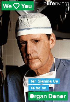 Dr. Thomas Starzl, the founding father of liver transplantation, supports bLifeNY's efforts to encourage organ donation. Thank you Dr. Starzl!