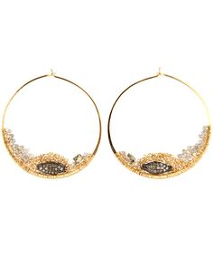Dana Kellin Fine Jewelry Diamond Hoop Earrings