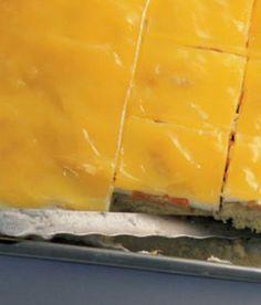 Žravé řezy s mandarinkami Slovak Recipes, Czech Recipes, Ethnic Recipes, Cookie Desserts, Dessert Recipes, Pie Cake, Something Sweet, Aesthetic Food, Baked Goods