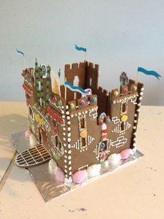 Free Gingerbread Castle Template Alipyper Fairy Folk Tales