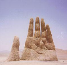 Open Hand Sculpture | Giant Hand Sculpture