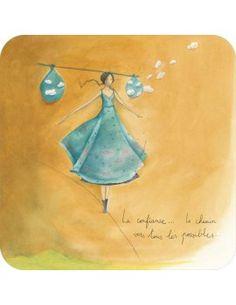 """Carte d'Art """"La Confiance..."""" RUTSAERT"""