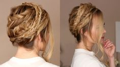 Triple Fishtail Crown Braid #Updo tutorial | Missy Sue