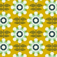 ☯☮ॐ American Hippie Psychedelic Art Pattern Design Wallpaper ~ Retro Daisy Pretty Patterns, Flower Patterns, Style Patterns, Graphic Patterns, Textile Patterns, Textiles, Pattern Paper, Pattern Art, Motif Vintage