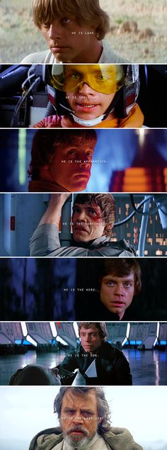 The Last Jedi (2017) #starwars I LOVE YOU LUKE