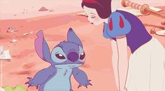 Snow White and Stitch