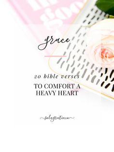 20 Bible Verses to Comfort a Heavy Heart